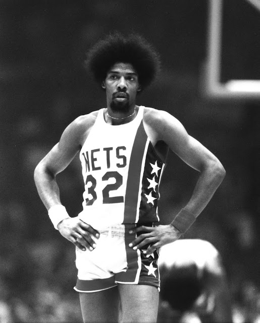 Julius Erving Baloncesto Afro