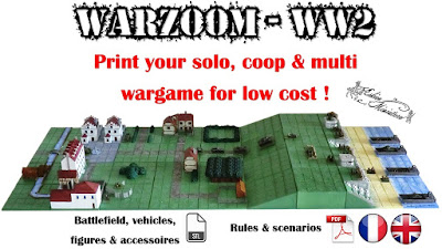 Warzoom 10mm WW2 - Strategy game with action figures! PYG