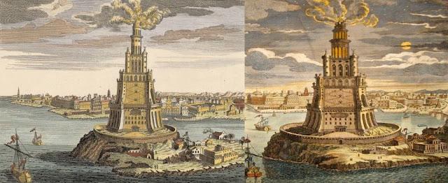 Pharos of Alexandria Sebagai Salah Satu Keajaiban Dunia Kuno