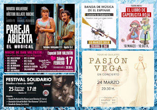 Agenda del auditorio de El Espinar