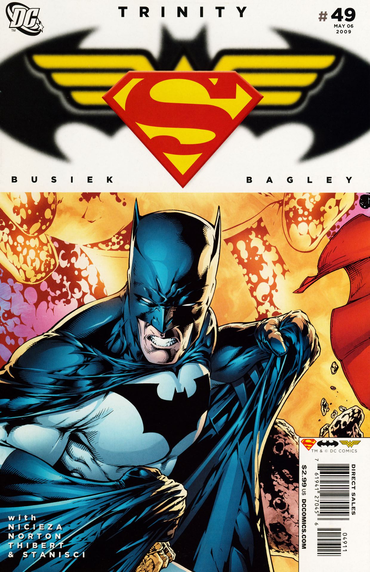 Read online Trinity (2008) comic -  Issue #49 - 1