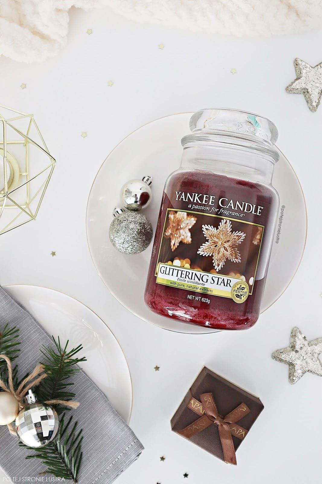 świeca yankee candle glittering star nowośc na zimę 2018
