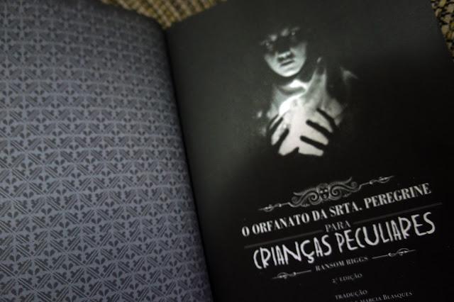 Resenha livro O orfanato da Sr. Peregrine para crianças peculiares