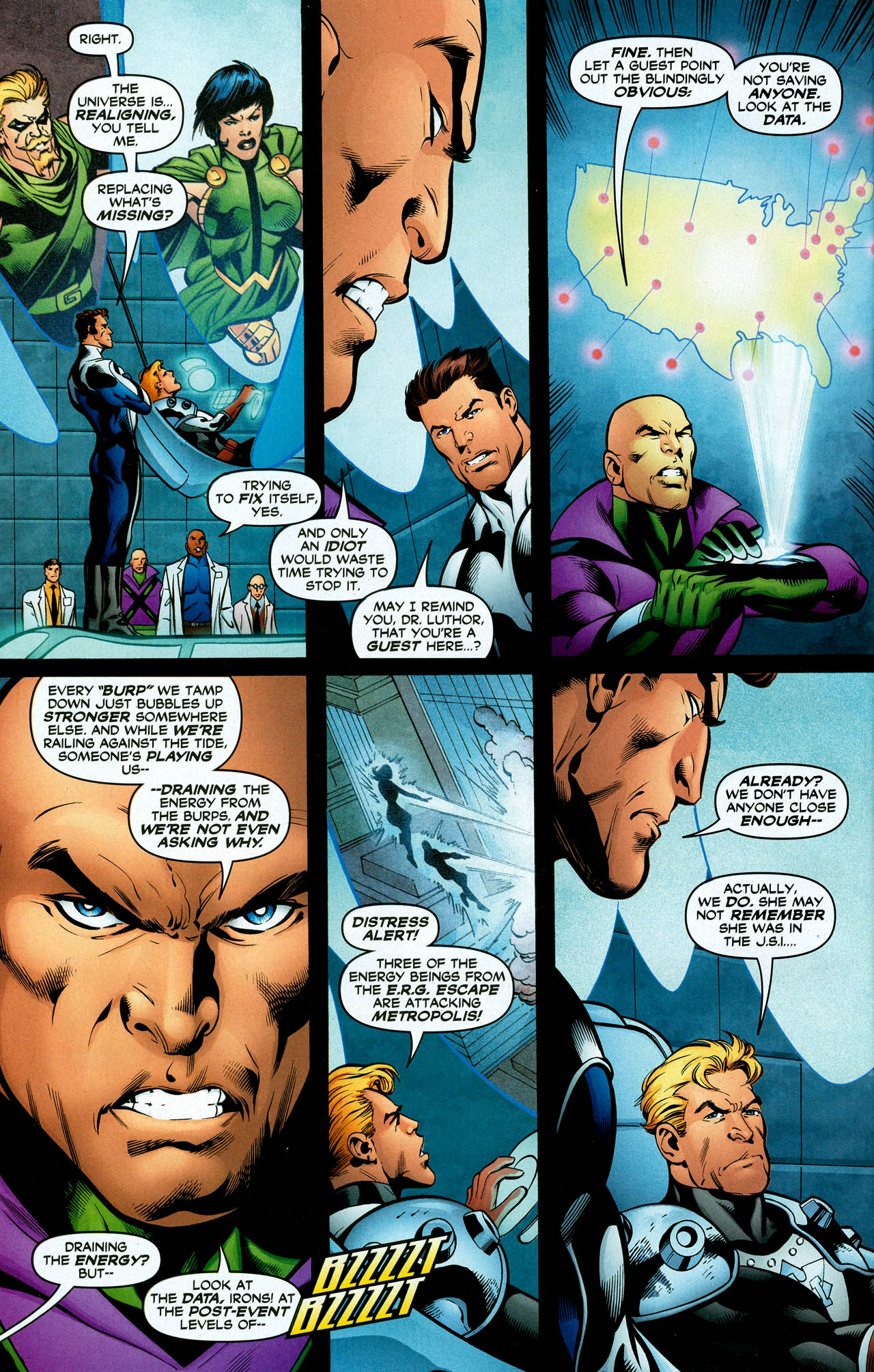 Read online Trinity (2008) comic -  Issue #28 - 30