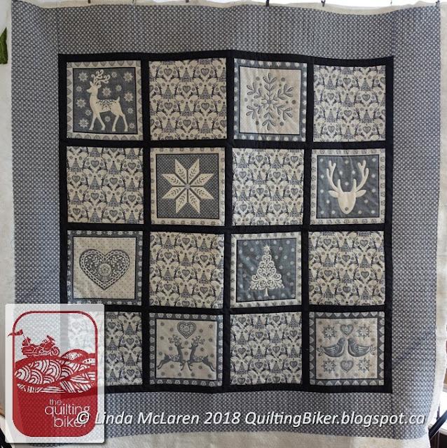 Client quilt - Scandi Christmas