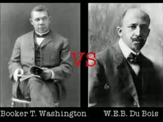 Washington Vs. Du Bois Dbq