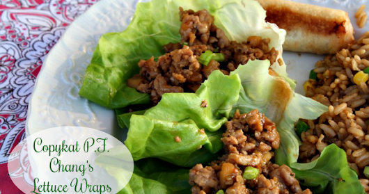 CopyKat PF Chang's Chicken Lettuce Wraps