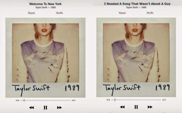 Chloe S Way Taylor Swift 1989 Alternative Song Titles