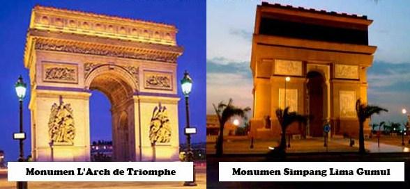 L'Arc de Triomphe Paris