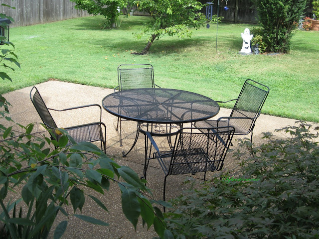 Refinish Metal Outdoor Furniture