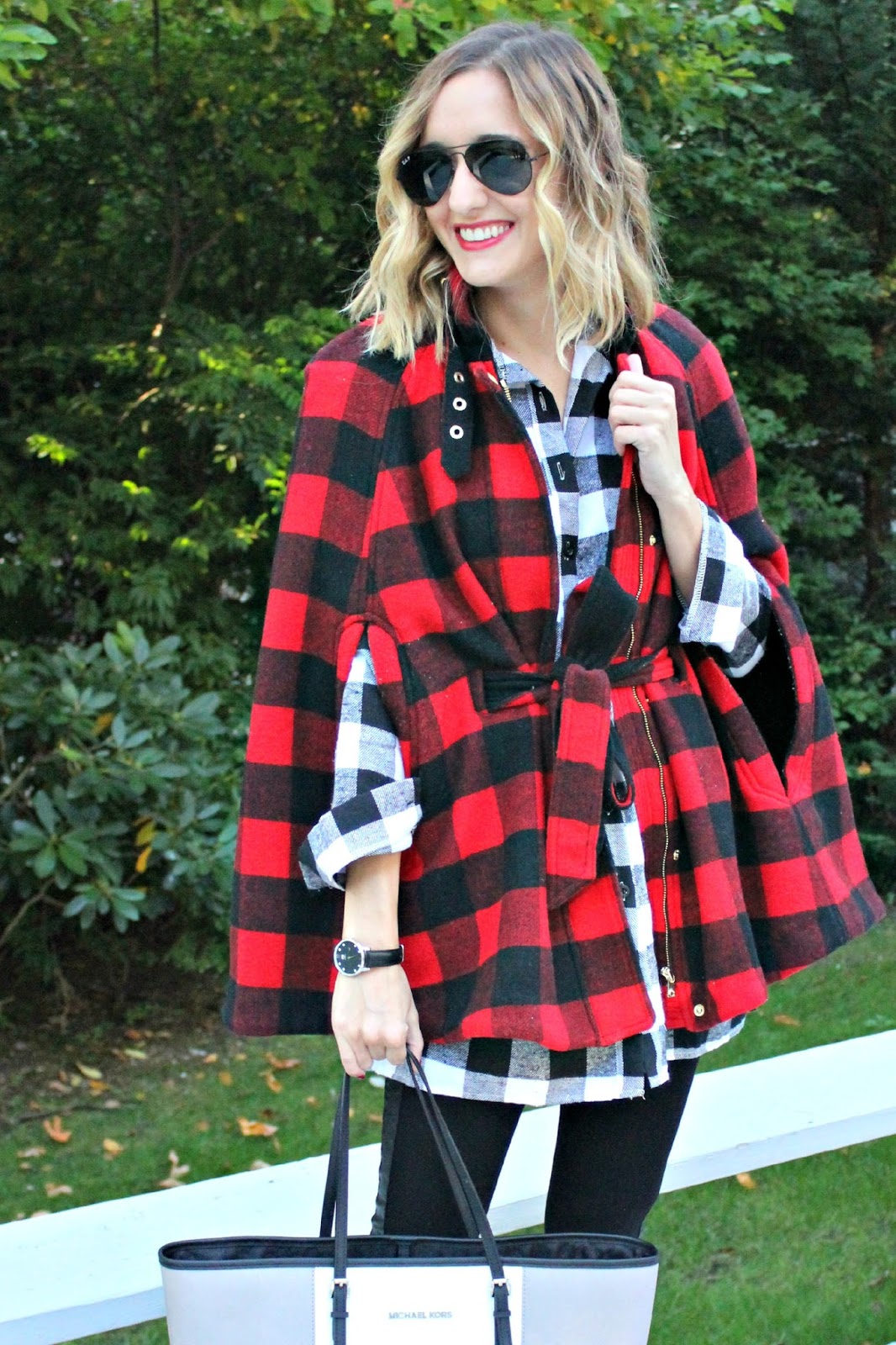 buffalo plaid fall outfit