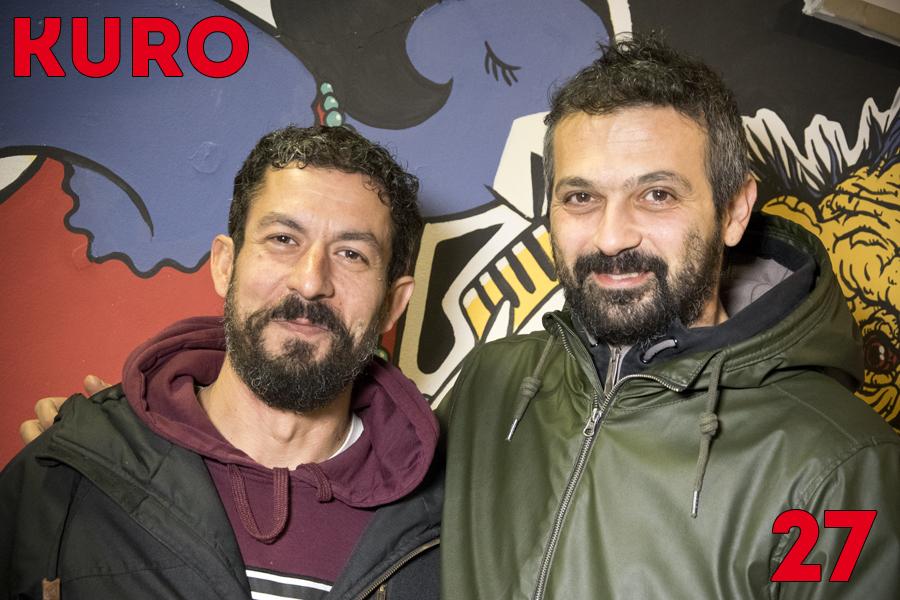 Vincenzo Fortunato e Daniel Tummolillo serigrafi italiani