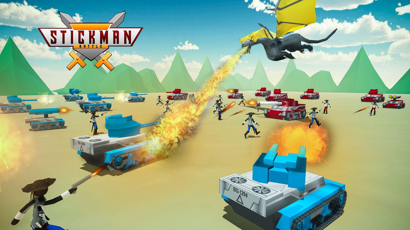 Ultimate Stickman Battle Simulator War Game MOD APK
