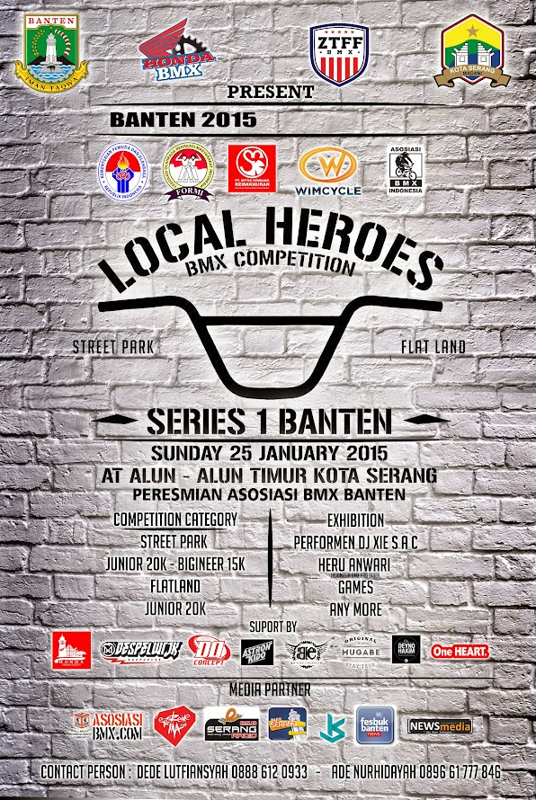 [Event] LOCAL HEROES BMX COMPETITION SERI #1 BANTEN