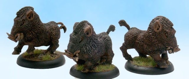 Pathfinder RPG Miniatures Monster Creature Boar