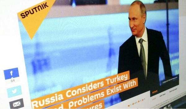 Dan Turki Blokir Situs Berita Sputnik.com Milik Negara Rusia