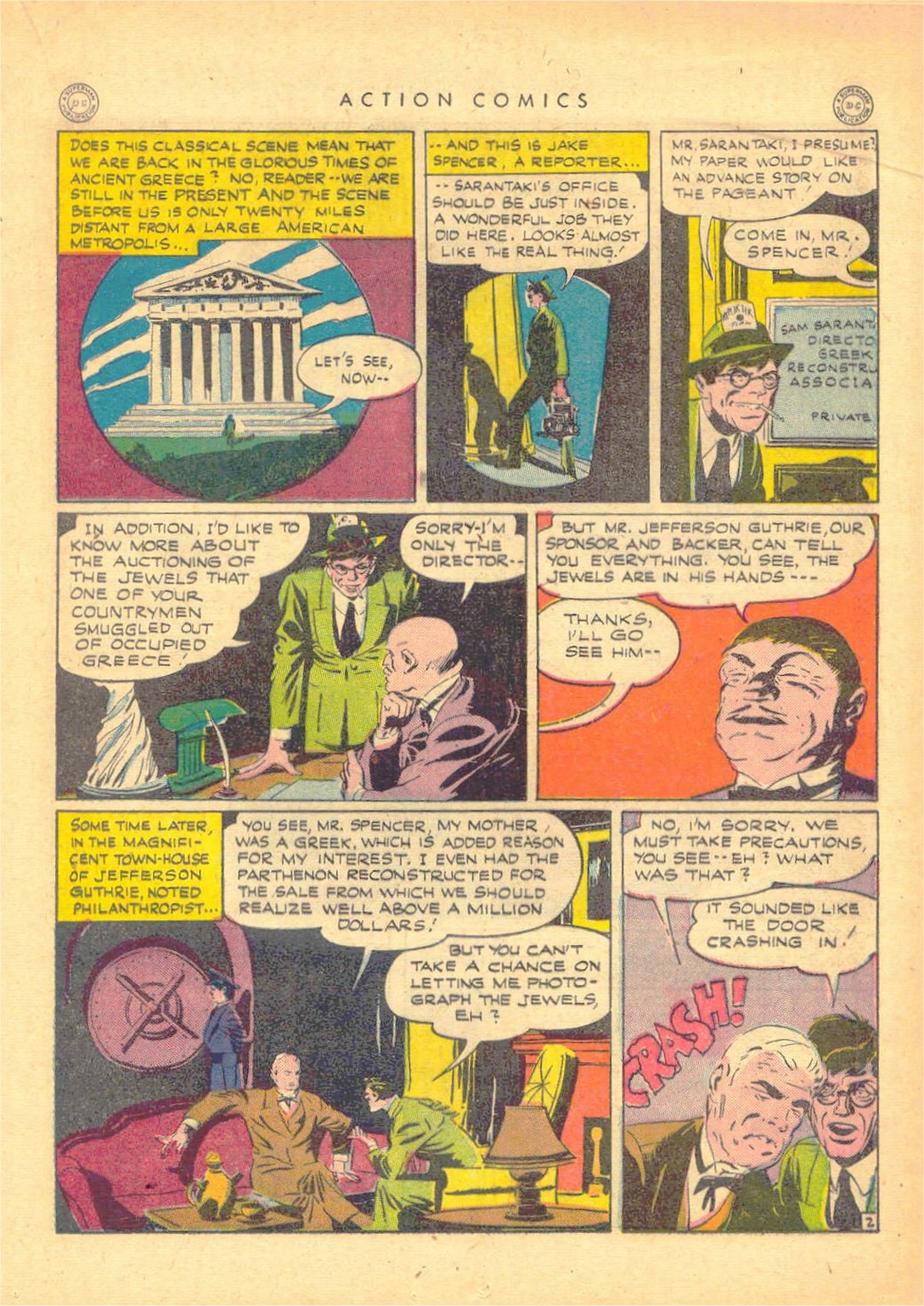 Read online Action Comics (1938) comic -  Issue #80 - 24