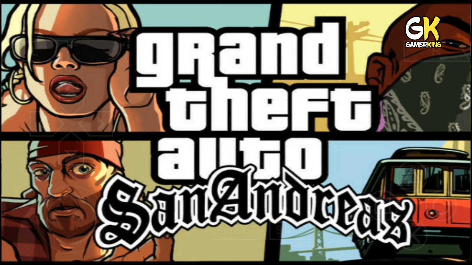 لعبة gta san andreas للاندرويد ppsspp