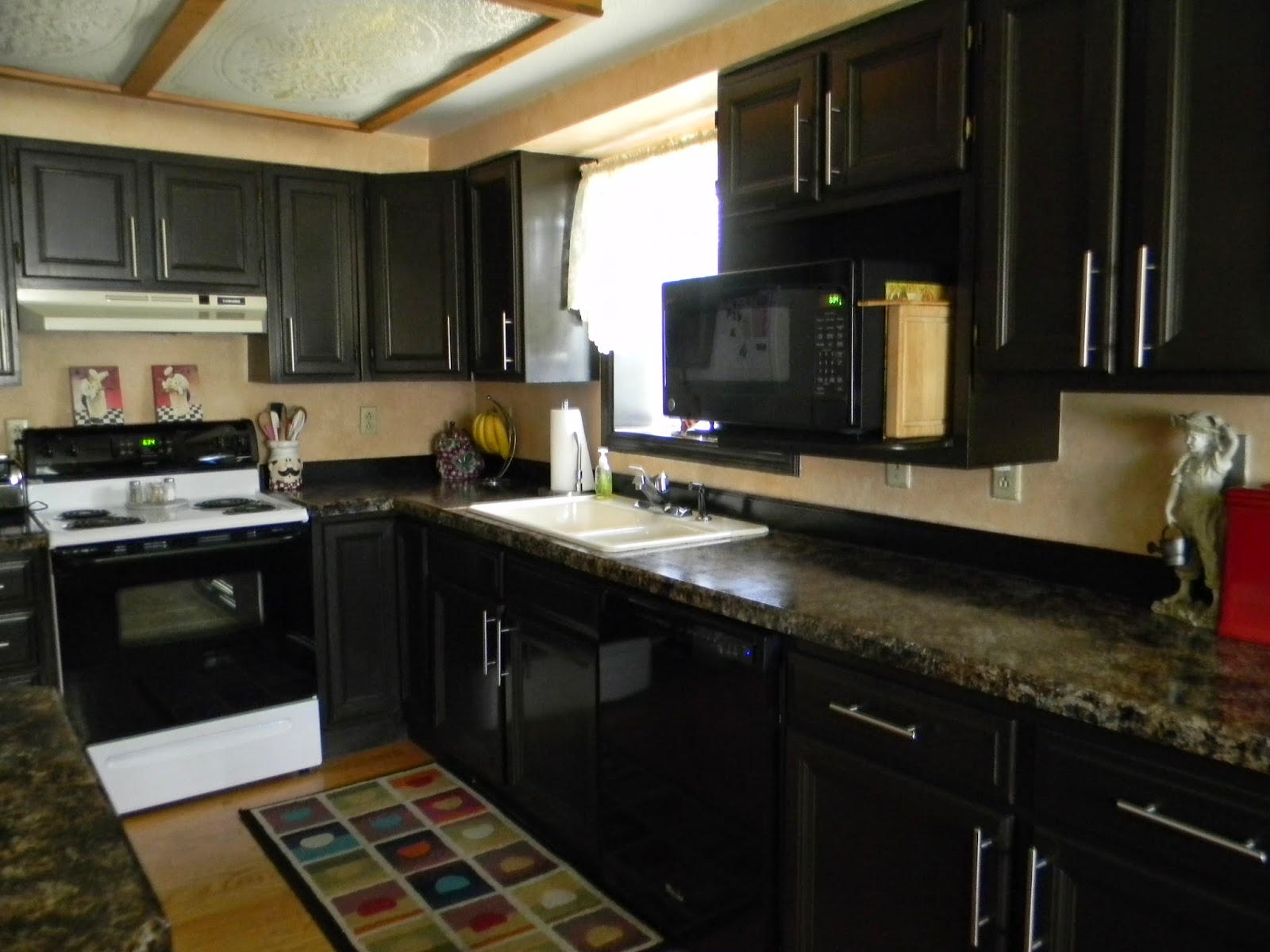 Kitchen Cabinet Paint Kits Happy Clean Living Kitchen Updated