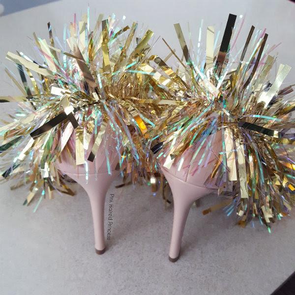 tinsel heels