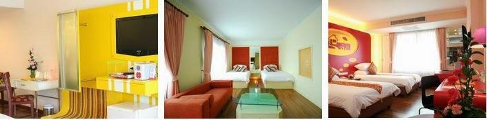 Guest friendly budget hotels bangkok for Hip hotels budget