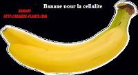 Banane pour la cellulite