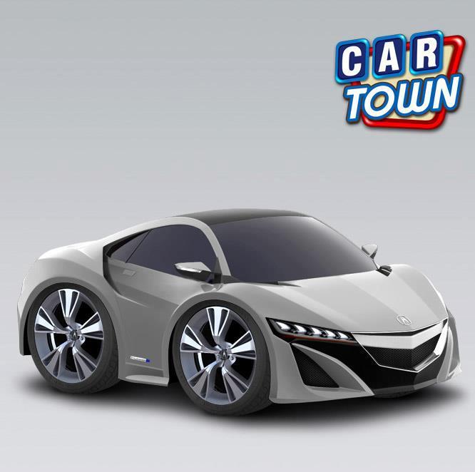 Cartown Blog Brasil: Acura NSX Concept