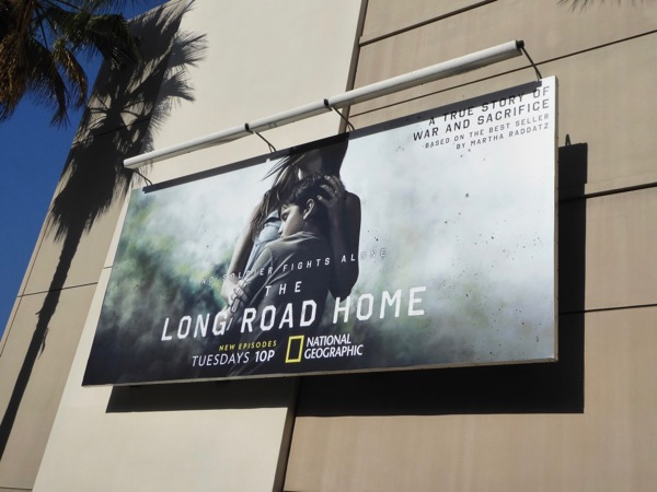 Long Road Home TV series billboard