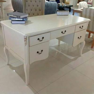 meja kantor duco putih