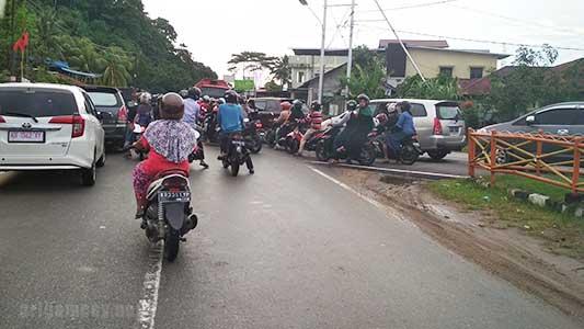Kemacetan Lalu lintas Pas Cap Go Meh Singkawang 2019