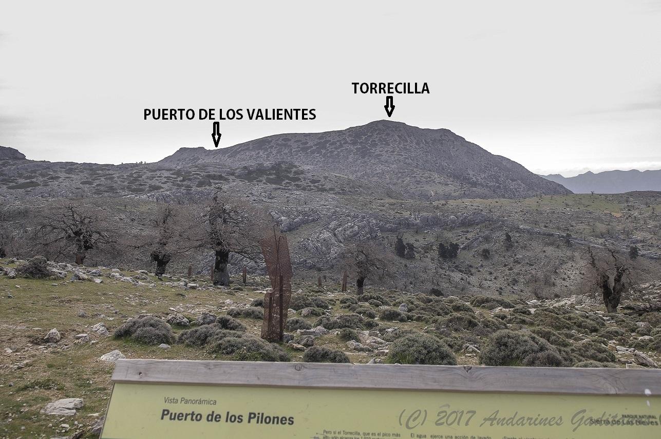 Resultado de imagen de PUERTO DE LOS VALIENTES TORRECILLA