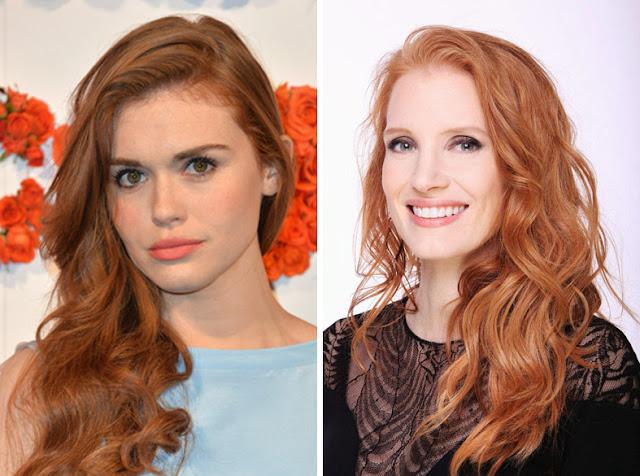 Актрисы с медными волосами