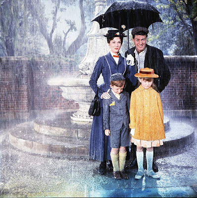 Mary Poppins 1964 movie Julie Andrews Dick Van Dyke