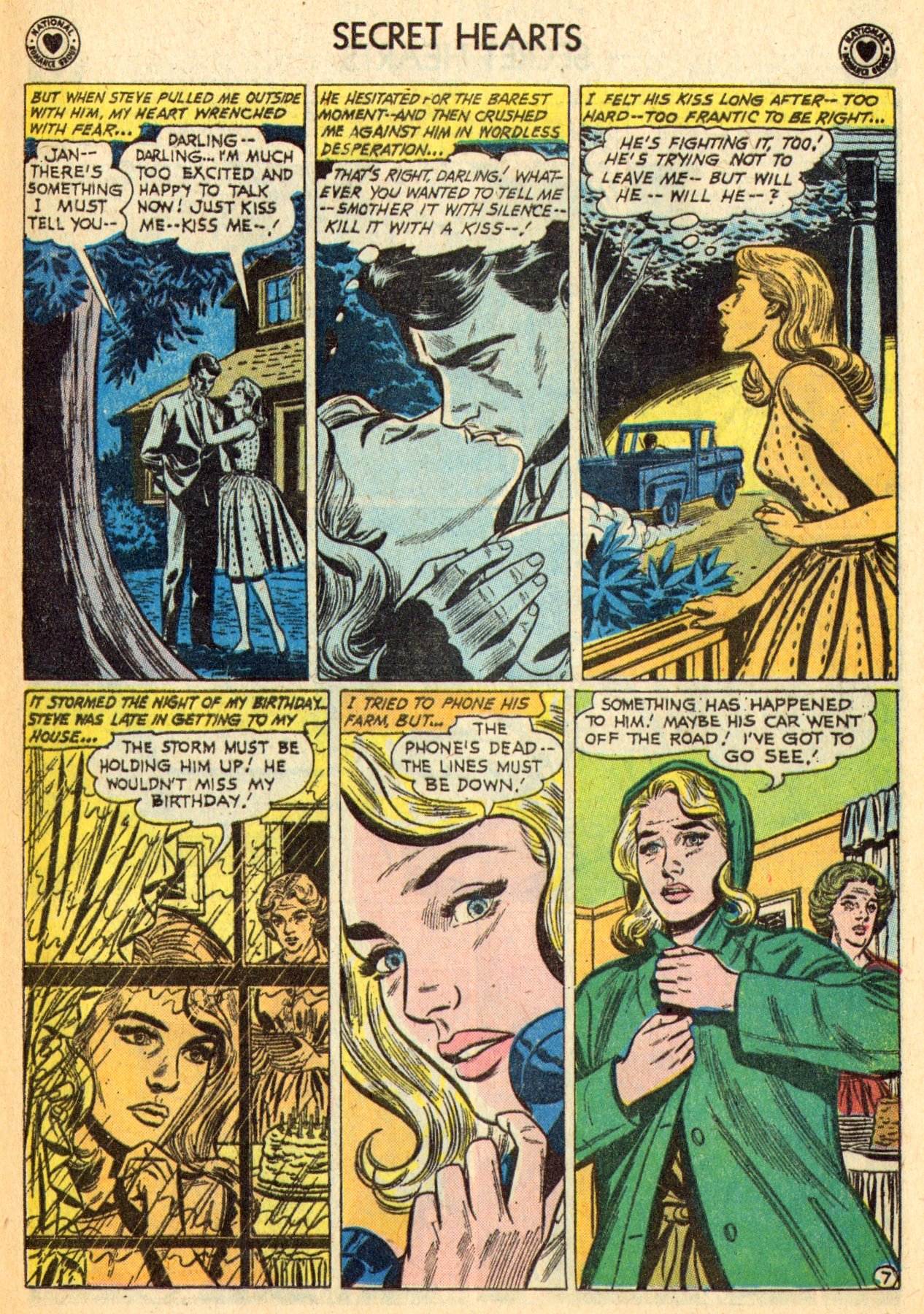 Read online Secret Hearts comic -  Issue #70 - 9
