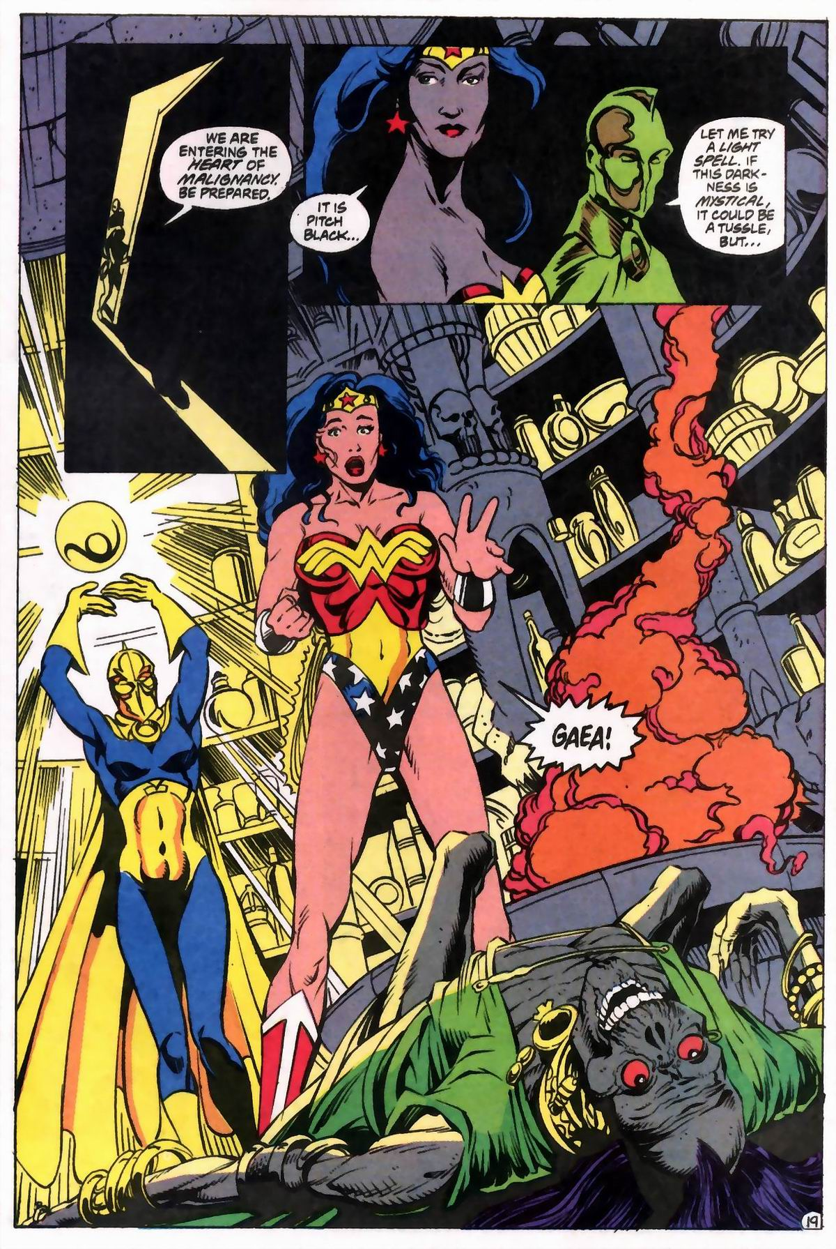 Read online Wonder Woman (1987) comic -  Issue #76 - 19