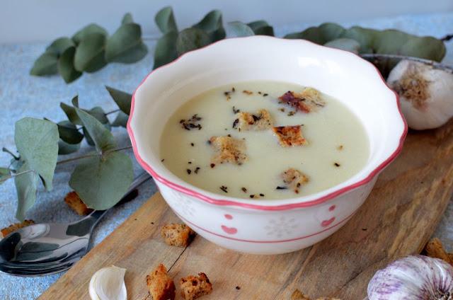 zupa-czosnkowa-krem Zupa krem z czosnku