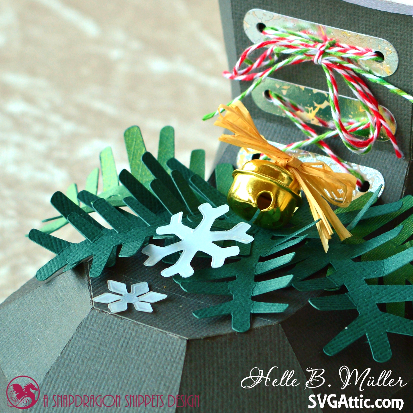 Christmas Cardstock Decoration