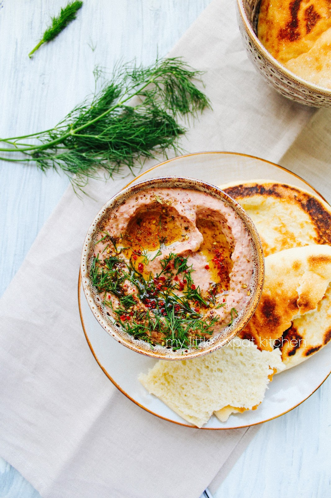 My Little Expat Kitchen Spicy Red Kidney Bean Dip With Za Atar