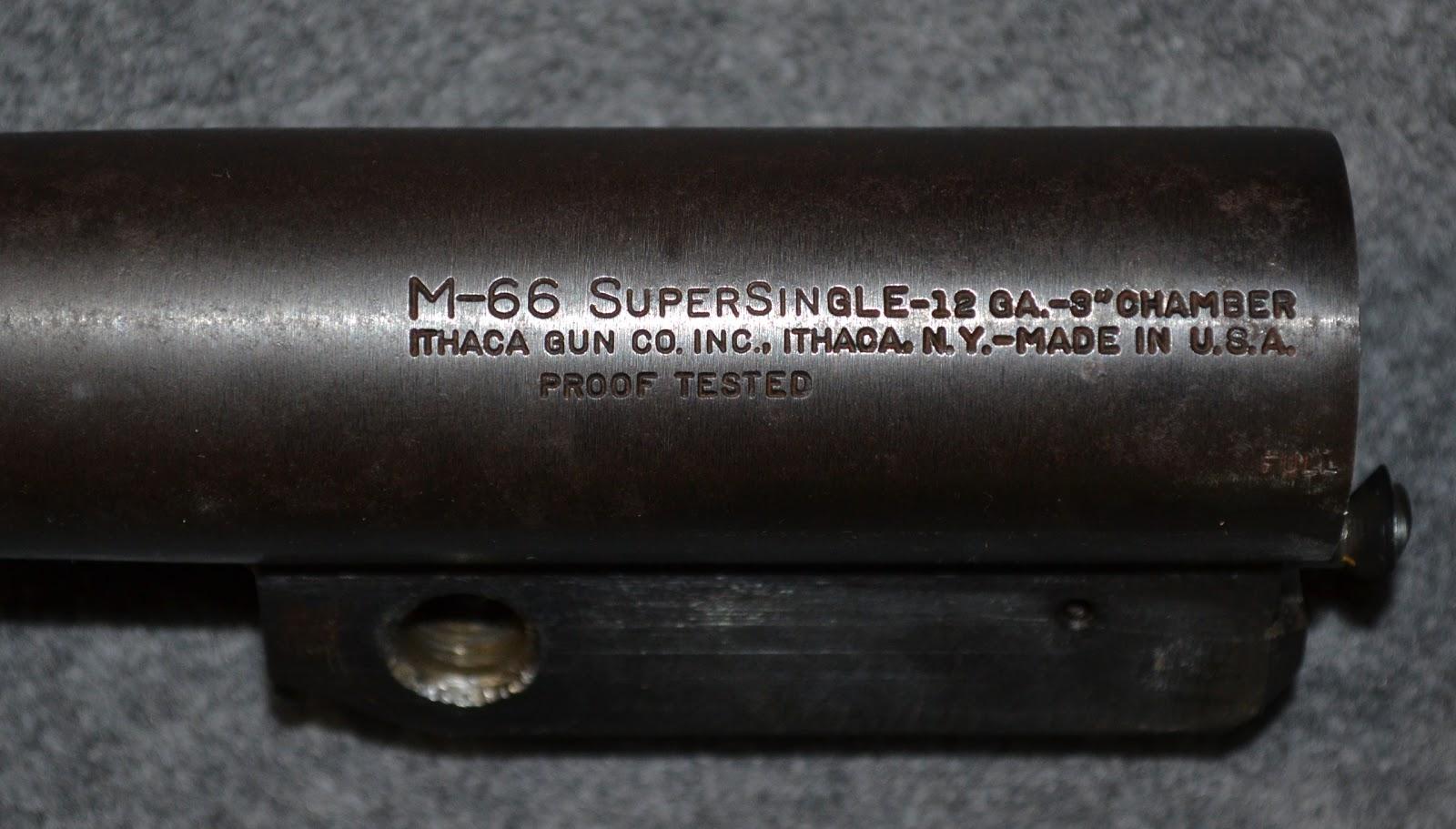 Ithaca Model 66: Parts List | Greenhorn Gunsmith