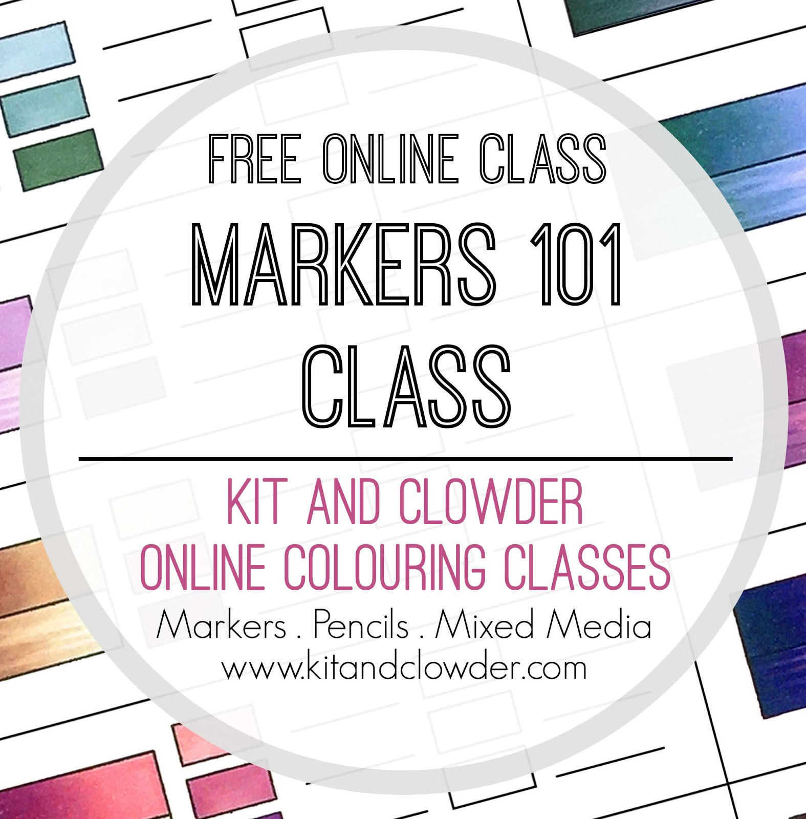 Join our FREE Markers 101 Class