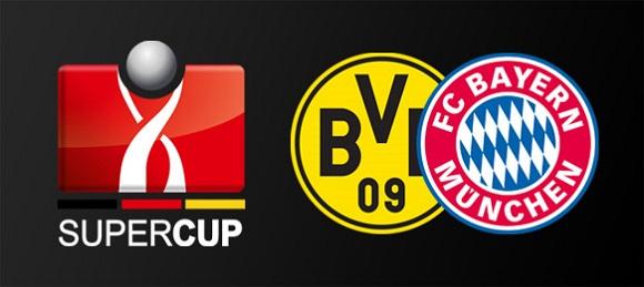 German Super Cup 2017 Bayern Munchen vs Borrusia Dortmund