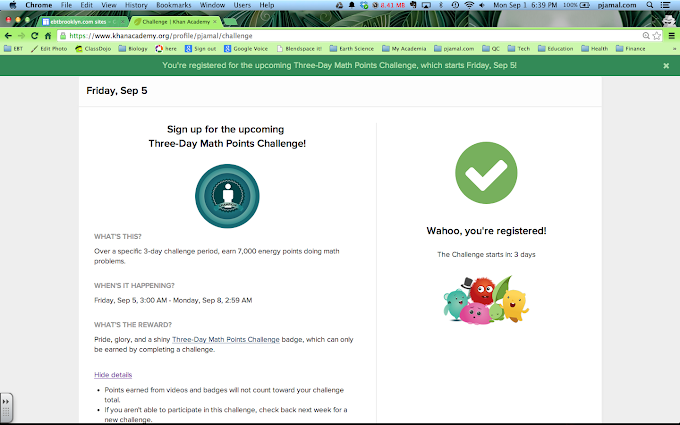 KhanAcademy Brilliance: Start the new school year with a challenge!