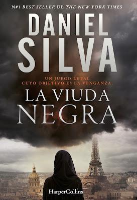 La viuda negra - Daniel Silva (2017)