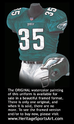 Philadelphia Eagles 2000 uniform
