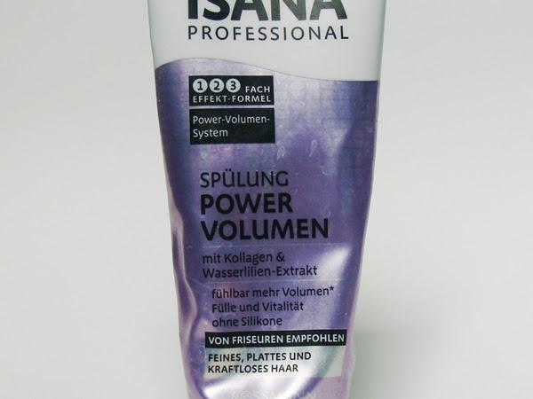 Isana Professional, Odżywka Power Volumen