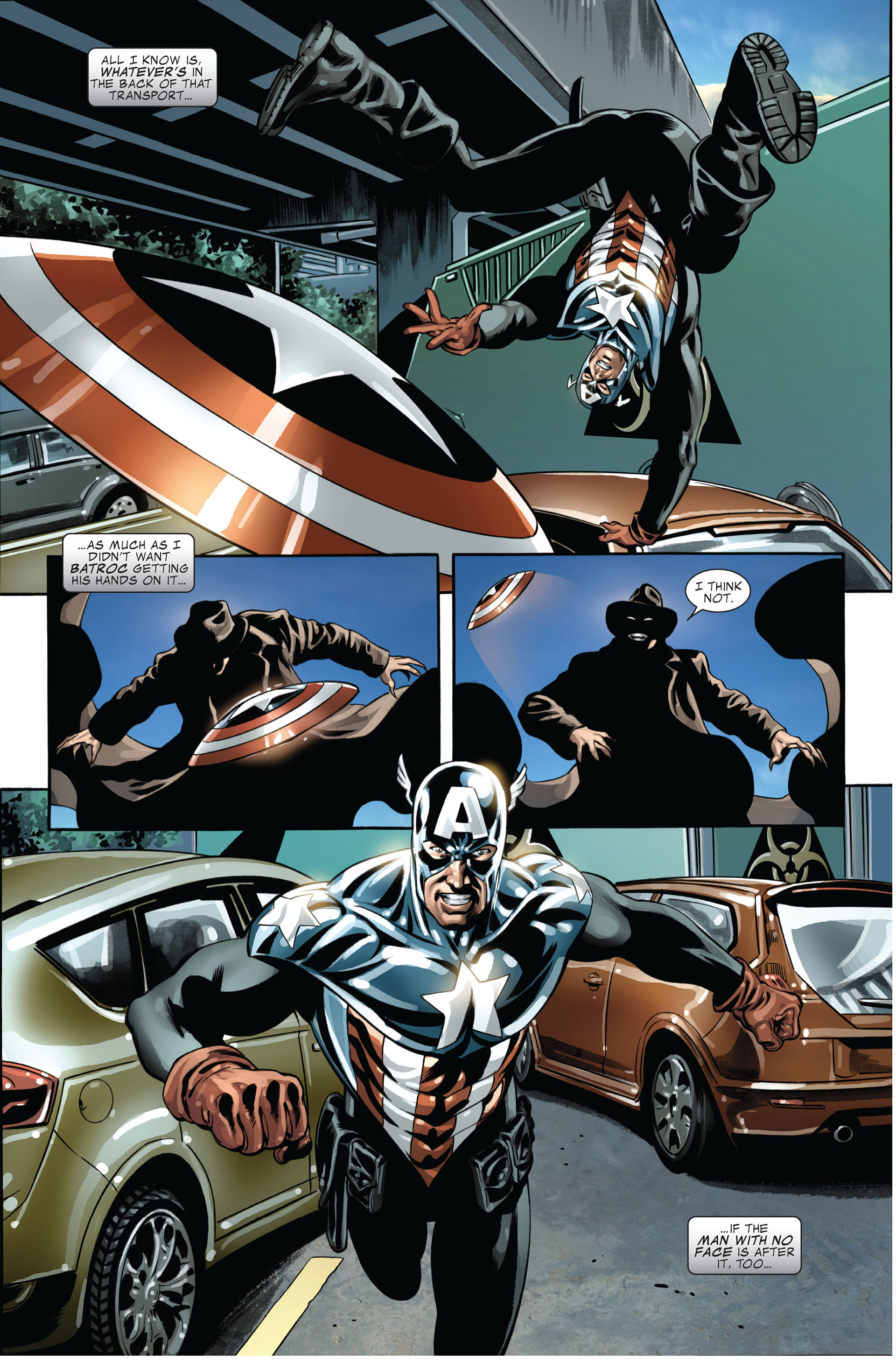 Read online Captain America (2005) comic -  Issue #45 - 6