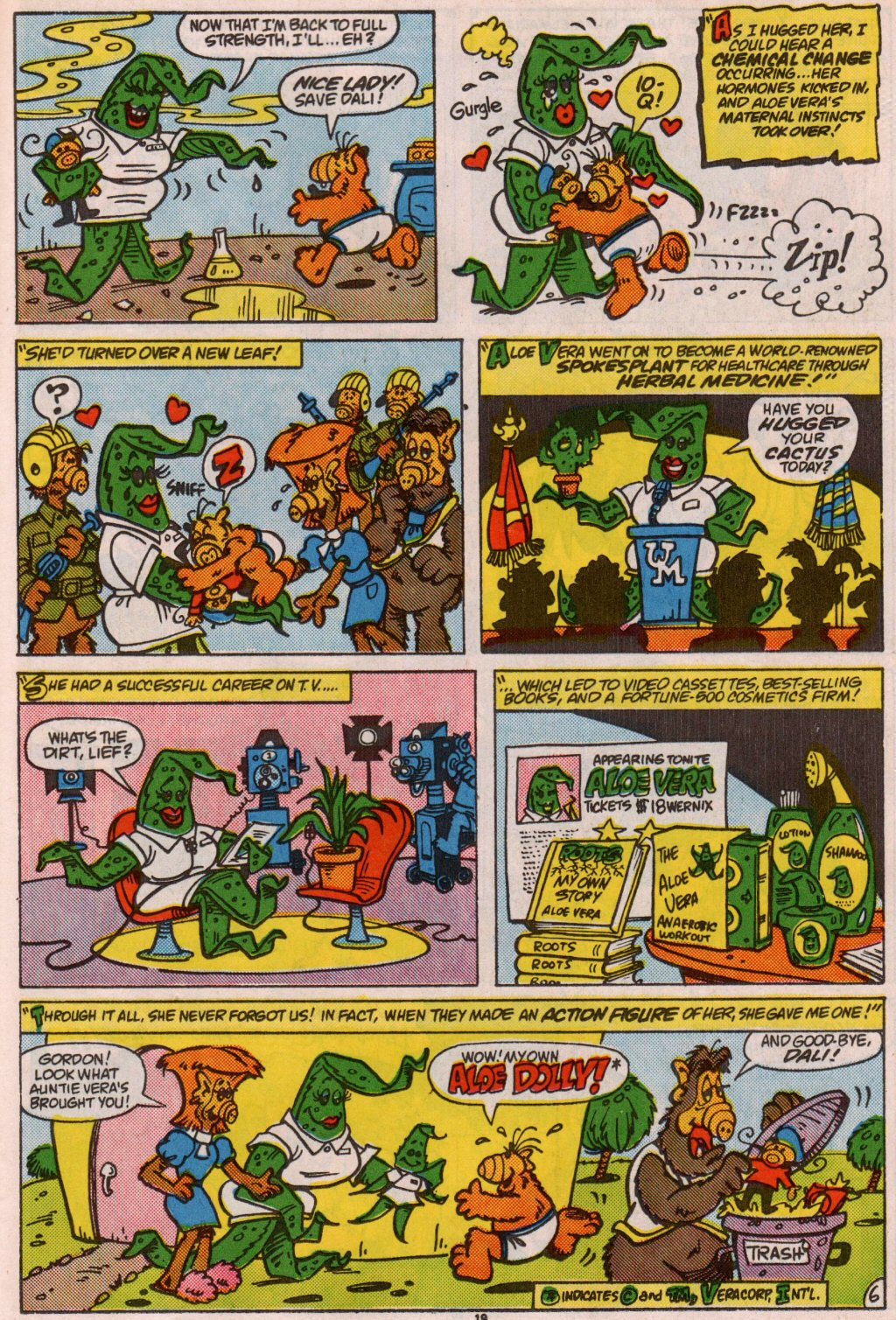 Read online ALF comic -  Issue #7 - 16