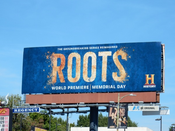 Roots TV remake billboard