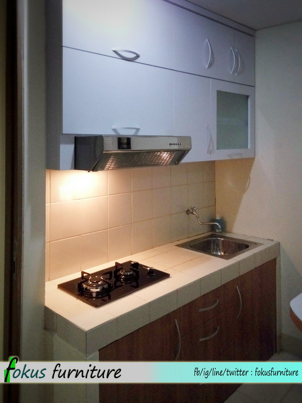 Kitchen Set Di Apartemen Gading Icon Kelapa Gading Furniture
