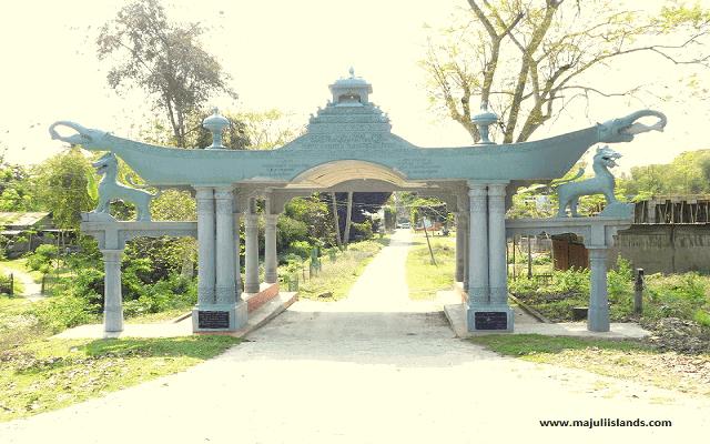Majuli Kamalabari Satra Of Majuli Island
